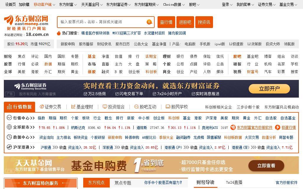 東方財富網